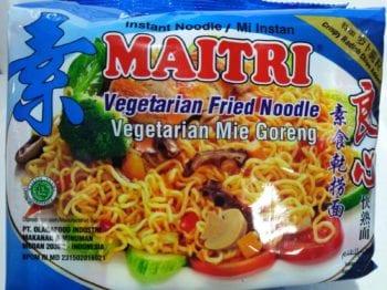 Vegetarian Fried Noodle
